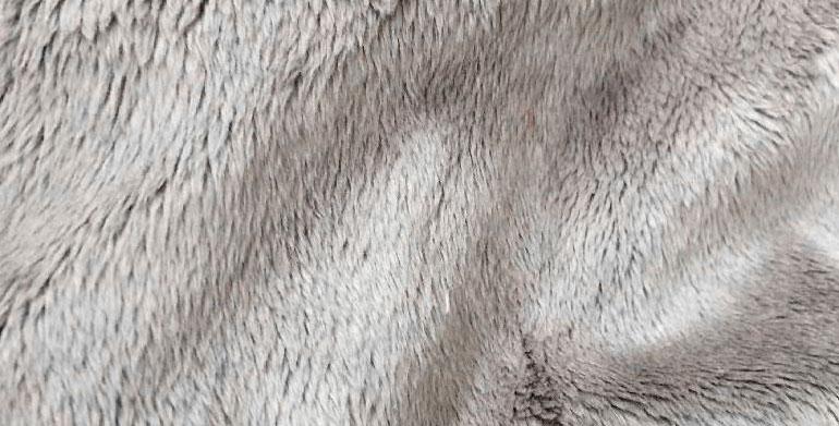 tkanina velboa - faktura materiału