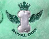 Zimowa torba Royal Dog pistacjowa